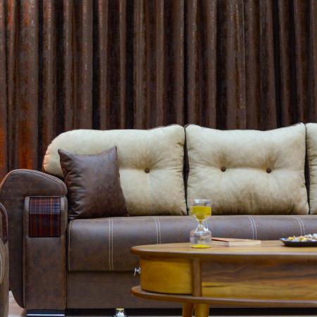 Canapea ORBAY, extensibila, relaxa, cu lada depozitare5