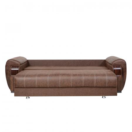 Canapea ORBAY, extensibila, relaxa, cu lada depozitare2