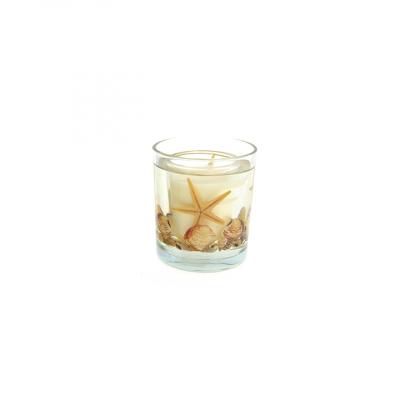 Candela sticla, Sea, Aroma Ocean, diametru 8 cm, inaltime 10 cm0