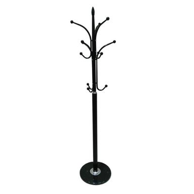 Cuier BELVIN, metal / marmură neagră0