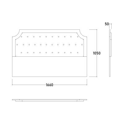 Set Dormitor ABELYA, Pat 160X200 cu somieră și spațiu depozitare, 5 piese11
