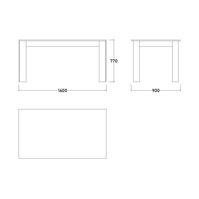 Set Dormitor DREAM, Pat tapitat 160X200, 5 piese12