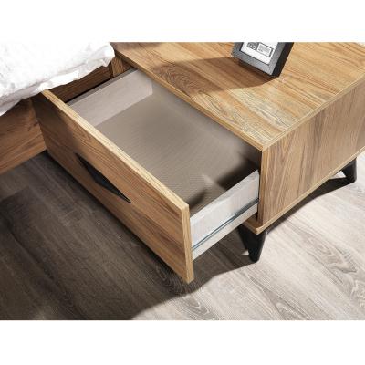 Set Dormitor DREAM, Pat tapitat 160X200 cu somieră și spațiu depozitare, 5 piese6