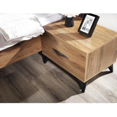 Set Dormitor DREAM, Pat tapitat 160X200 cu somieră și spațiu depozitare, 5 piese7