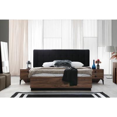 Set Dormitor EYMIR, Pat tapitat 160X200 cu somieră și spațiu depozitare, 6 piese2
