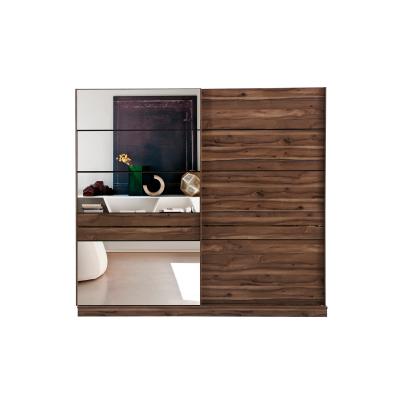 Set Dormitor EYMIR, Pat tapitat 160X200 cu somieră și spațiu depozitare, 6 piese8