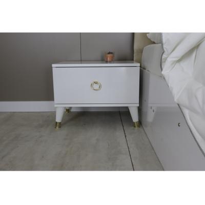 Set Dormitor LUCKY, Pat tapitat 160X200, 5 piese3