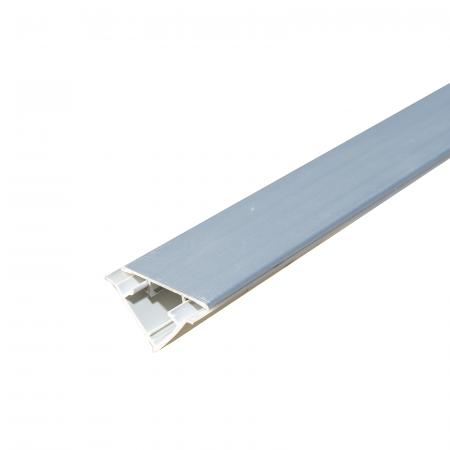 Inaltator blat aluminiu neted, latime 42 mm, inaltime 27 mm0