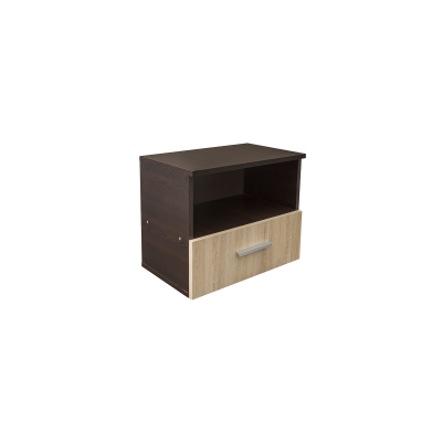 Noptiera Alma cu un sertar pentru dormitor- ExpoMob [1]