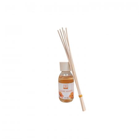 Odorizant de camera cu betisoare, aroma Cuore Ambra, 125ml - ExpoMob [1]