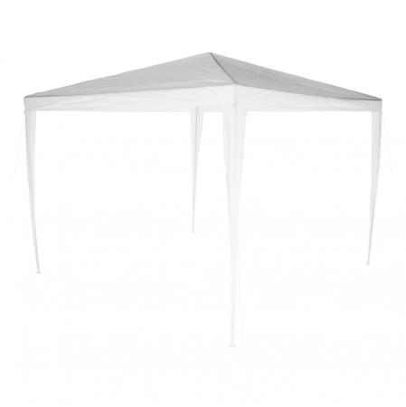 Pavilion grădină/foişor, alb, 3x3 m, GOTAN3