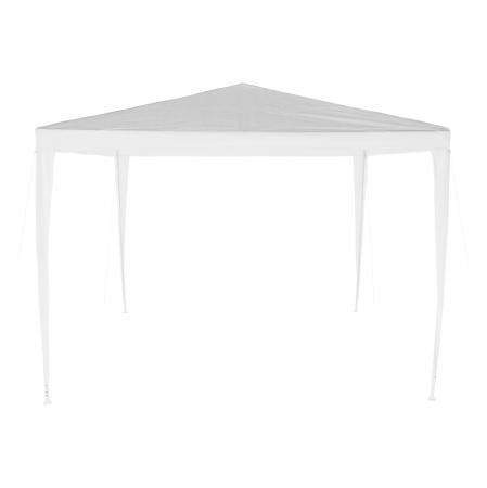Pavilion grădină/foişor, alb, 3x3 m, GOTAN2