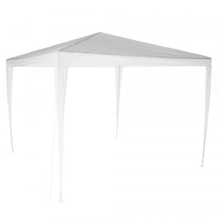 Pavilion grădină/foişor, alb, 3x3 m, GOTAN0
