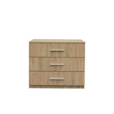 Set Dormitor OFELIA II, Dulap 5 usi, Pat 160x200 cu sertar, 2 noptiere si comoda6