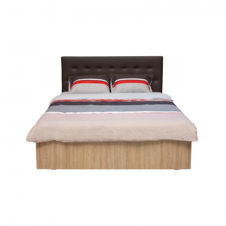 Set Dormitor OFELIA II, Dulap 5 usi, Pat 160x200 cu sertar, 2 noptiere si comoda4