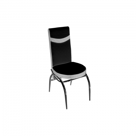 Set masa cu blat de sticla extensibila Lara cu 6 scaune - ExpoMob [1]