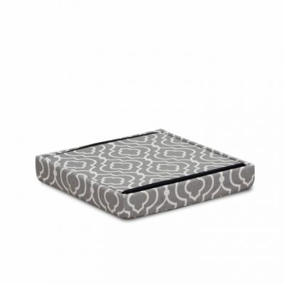 Taburet pliabil MARLO, material gri/model alb2