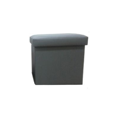 Taburet pliabil TELA NEW cu spaţiu stocare, piele ecologica4