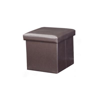 Taburet pliabil TELA NEW cu spaţiu stocare, piele ecologica6