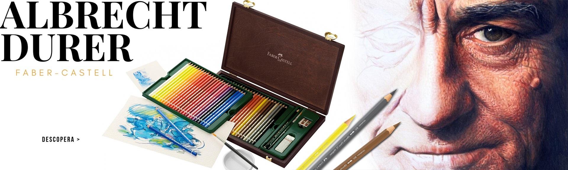 Albrecht Durer - creioane colorate acuarela