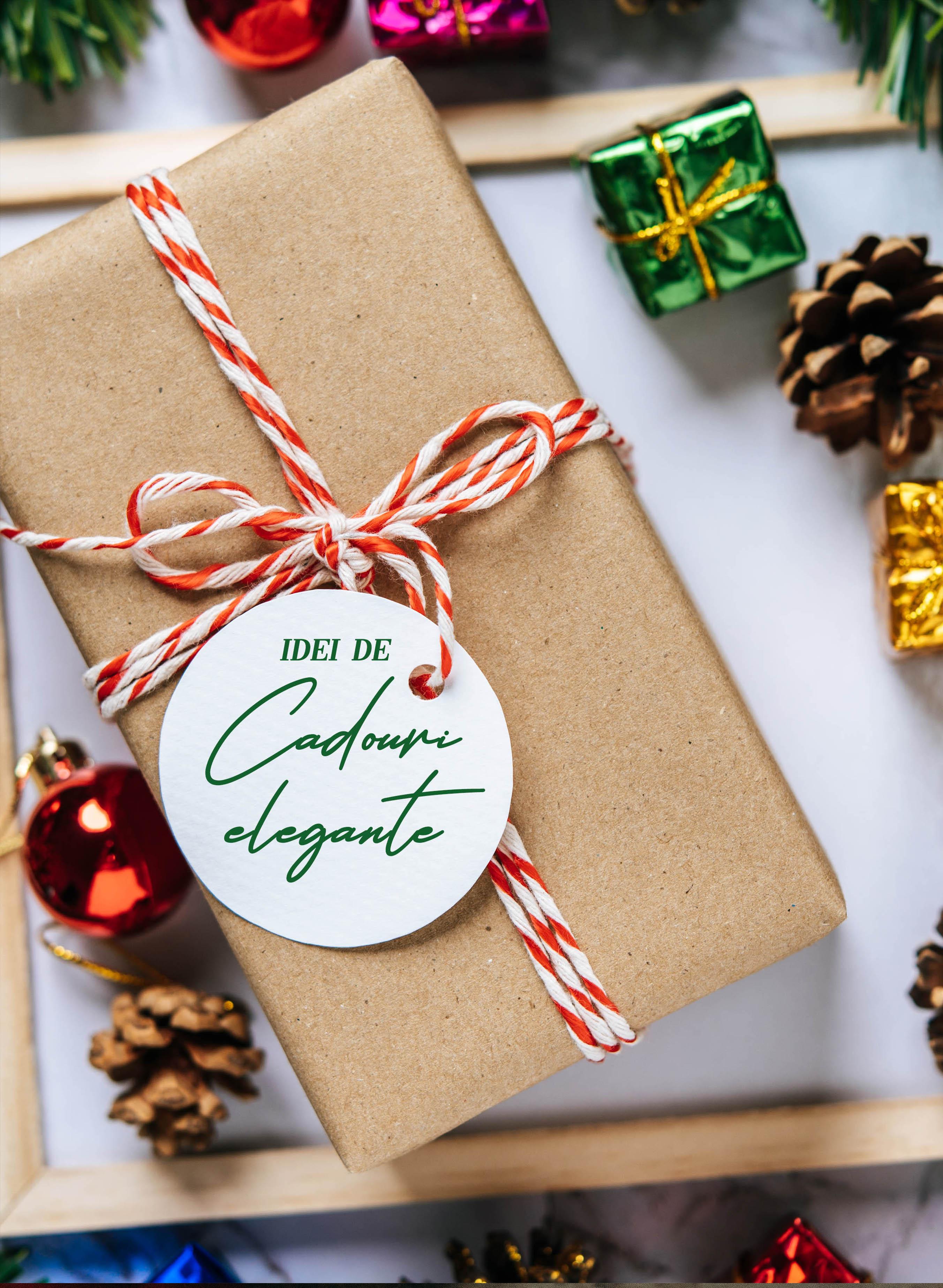 Cadouri elegante de Crăciun