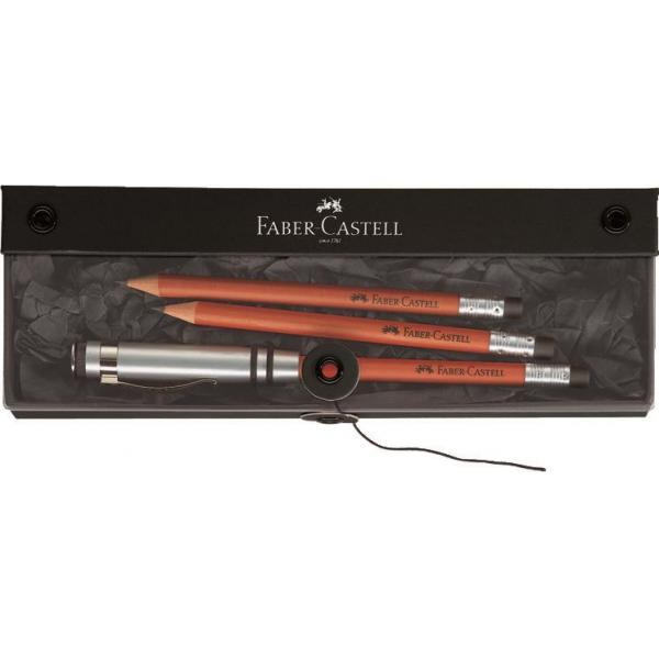 Set Cadou Perfect Pencil Design Maro Faber-Castell 0