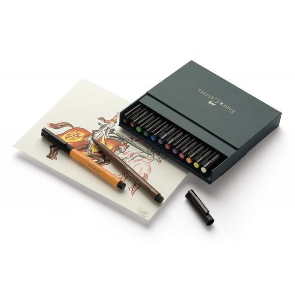 Pitt Artist Pen Cutie Studio 12 Buc Faber-Castell 2