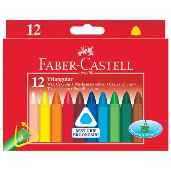 Creioane Cerate Triunghiulare Faber-Castell 0