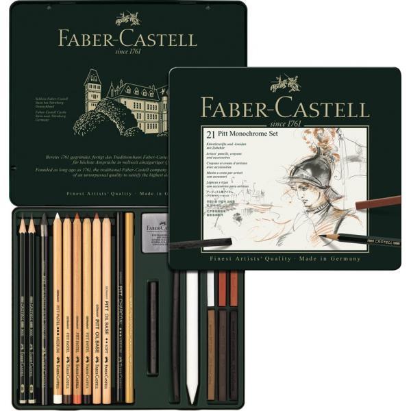 Set Pitt Monochrome 21 Buc Faber-Castell 0