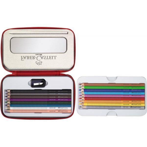Set Cadou Desen Si Pictura Colour Grip Faber-Castell 0