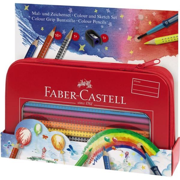 Set Cadou Desen Si Pictura Colour Grip Faber-Castell 2