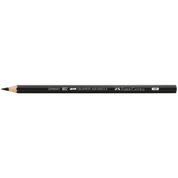 Creion Graphite Aquarelle HB Faber-Castell 1