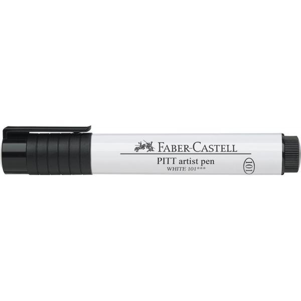 Pitt Artist Pen 2.5 Alb Faber-Castell 1