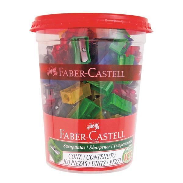 Ascutitoare Plastic Simpla 100 Faber-Castell 0