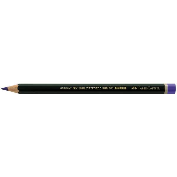 Creion Albastru Castell Color 871 Faber-Castell 0