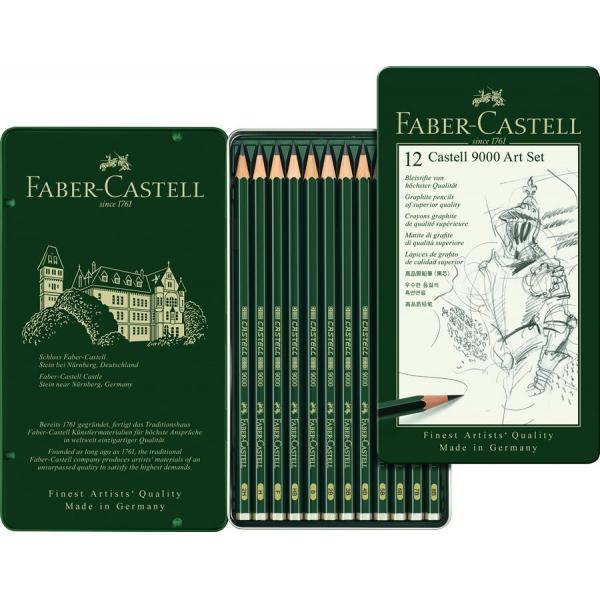 Set Arta Creion Grafit Castell 9000 Faber-Castell 0