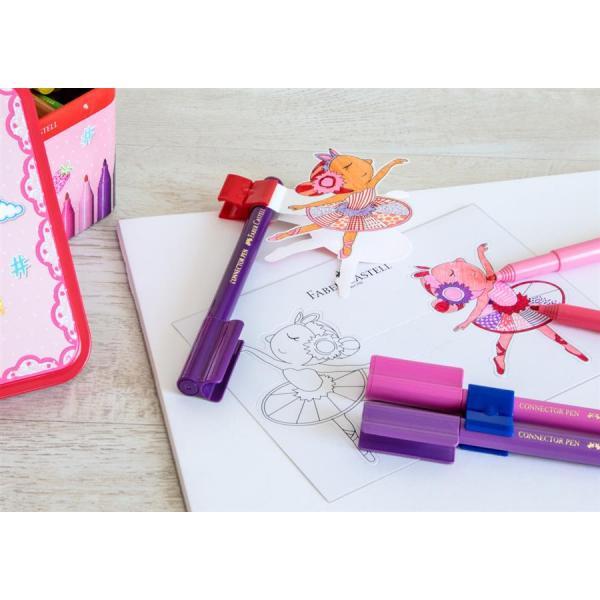 Carioca 33 Culori Ballerina Box Connector Faber-Castell 2