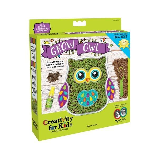 Set Creativity Grow Bufnita Faber-Castell 0
