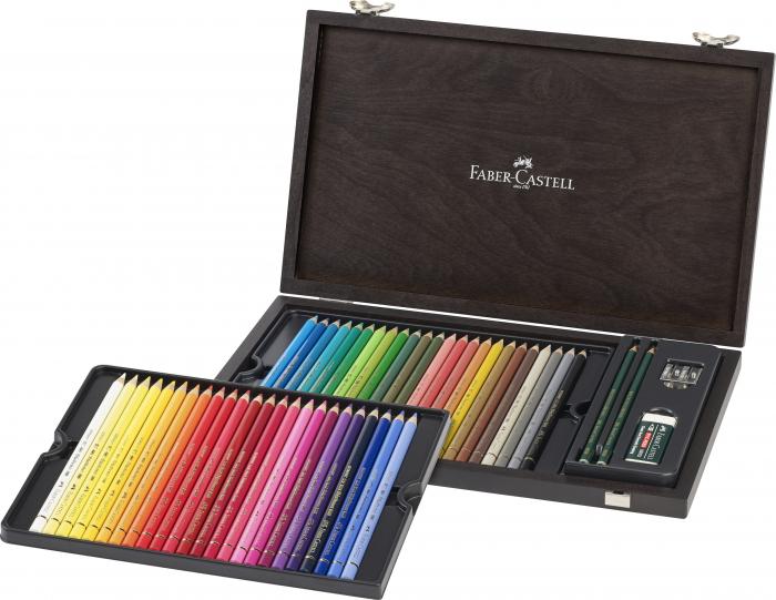 Set 48 creioane colorate Polychromos Faber-Castell 0