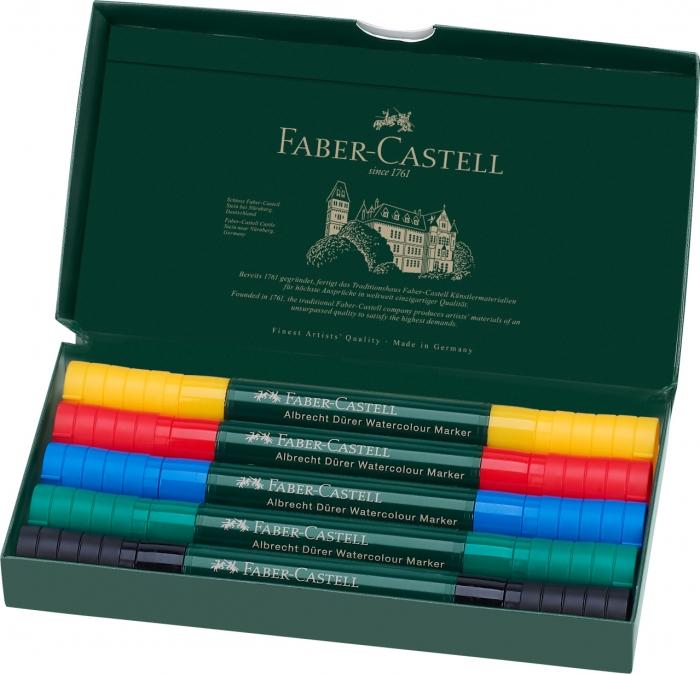 Set 5 Markere Solubile Albrecht Durer Faber-Castell 1
