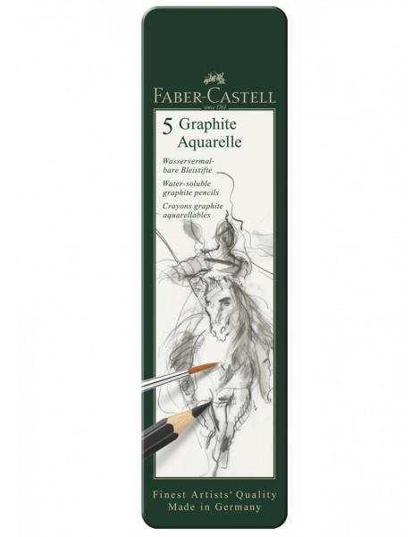 SET 5 BUC CREION GRAFIT AQUARELLE Faber-Castell 1