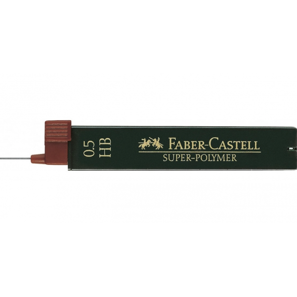 Mina Creion 0.5 mm Super-Polymer Faber-Castell (HB/ B/ 2B) 0