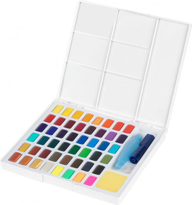 Acuarele 48 Culori Creative Studio Faber-Castell 0