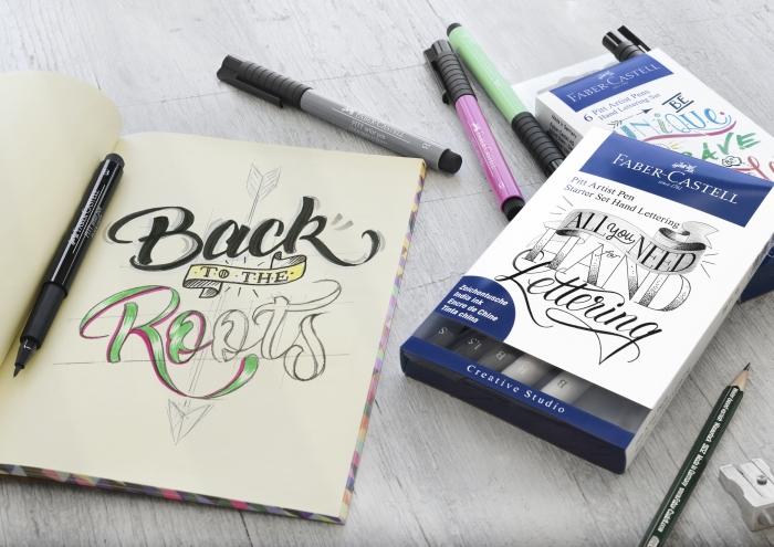 Pitt Artist Pen Set Caligrafic 8 Buc Faber-Castell 1