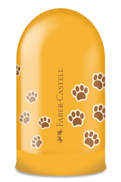 Ascutitoare Simpla cu Container Amprente Faber-Castell 2