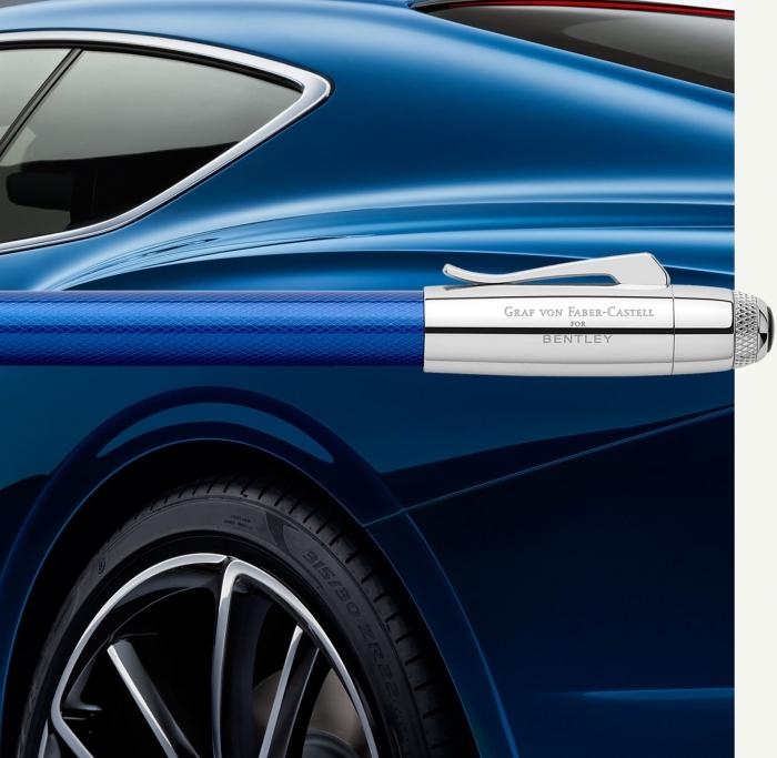 Stilou Bentley Sequin Blue Graf Von Faber-Castell 2