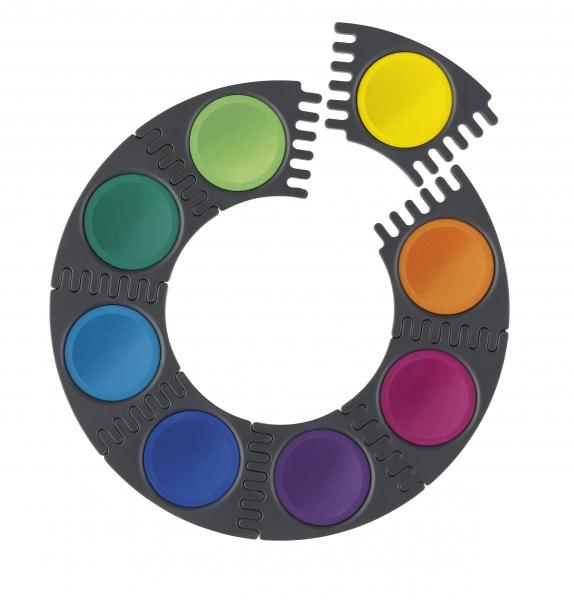 Acuarele 12 Culori Connector Faber-Castell 1