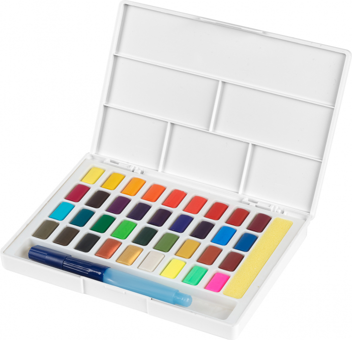 Acuarele 36 Culori Creative Studio Faber-Castell 0