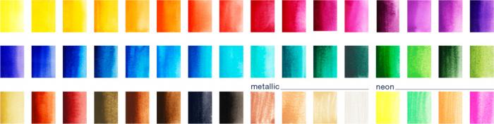 Acuarele 48 Culori Creative Studio Faber-Castell 3