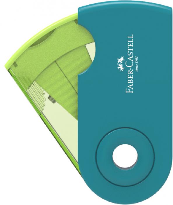 Ascutitoare Plastic Simpla Sleeve-Mini Trend 2019 Faber-Castell 0